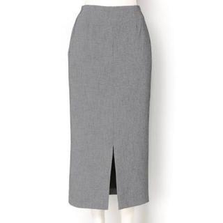 フレイアイディー(FRAY I.D)の(未使用タグ付き)FRAY I.D ツイードストレートスカート(ロングスカート)