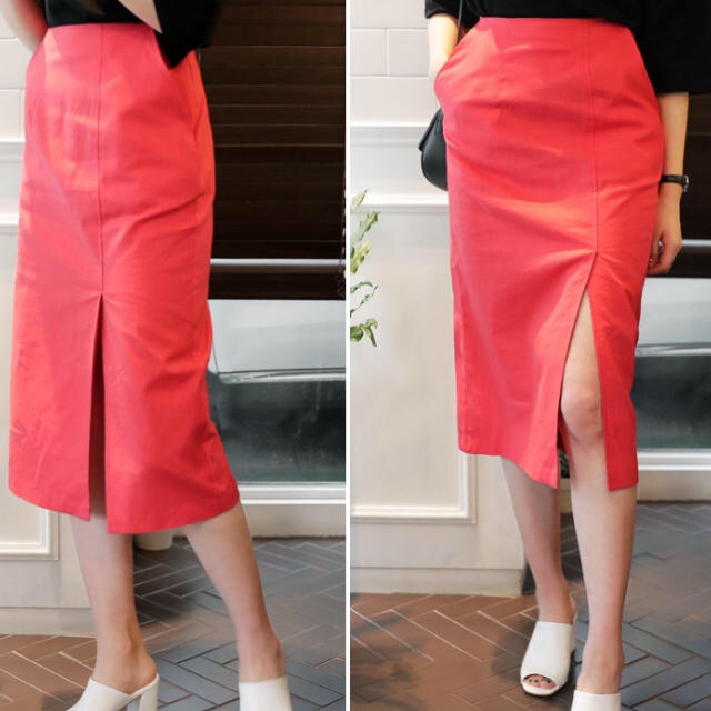 dholic(ディーホリック)のディーホリックスリットスカート レディースのスカート(ひざ丈スカート)の商品写真