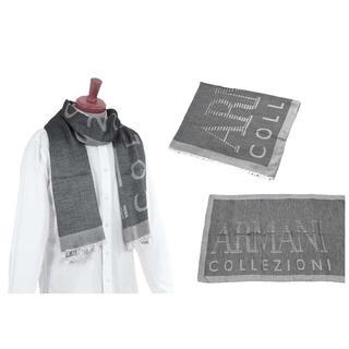 アルマーニ コレツィオーニ(ARMANI COLLEZIONI)のソマ様 アルマーニ ストール ショール マフラー  35番 グレー(ストール)