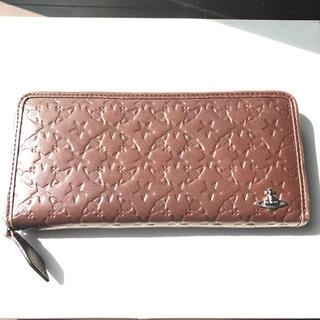ヴィヴィアンウエストウッド(Vivienne Westwood)のヴィヴィアンウエストウッド モノグラム ラウンドファスナー長財布(財布)