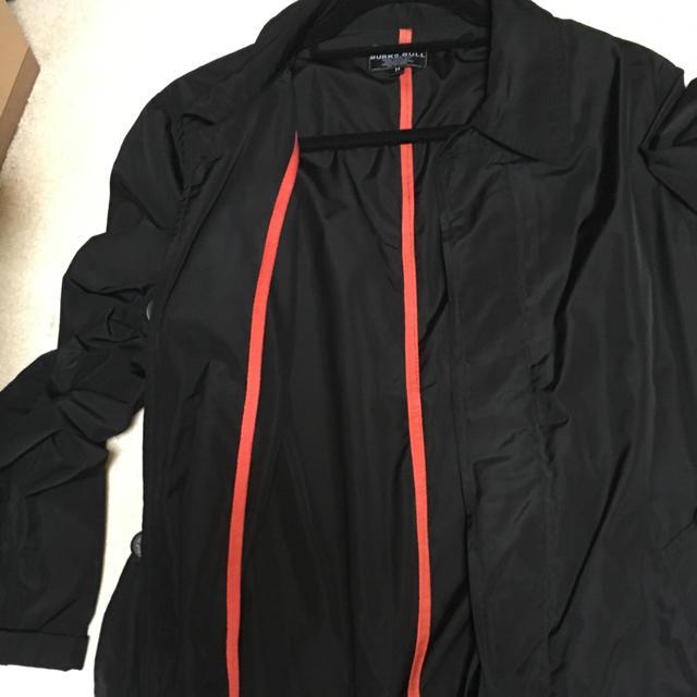 BURKS.BULL ステンカラーコート(ブラック) メンズのジャケット/アウター(ステンカラーコート)の商品写真