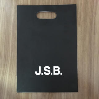 サンダイメジェイソウルブラザーズ(三代目 J Soul Brothers)のJ.S.B. ショップ袋(ショップ袋)