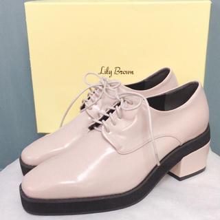 リリーブラウン(Lily Brown)のLily Brownレースアップシューズ(ローファー/革靴)