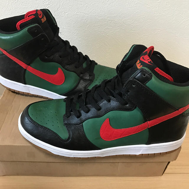 super popular ef315 a92fd 28 nike dunk high supreme gucci カラー グッチ | フリマアプリ ラクマ