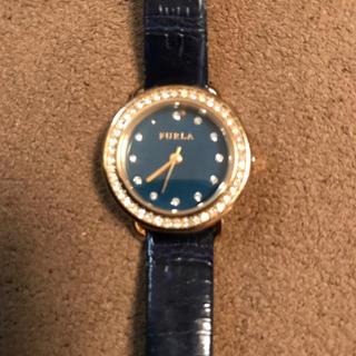 フルラ(Furla)の【フルラ】腕時計 ブルーフェイス ジャンク扱い(腕時計)