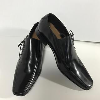 ステファノベーメル(STEFANO BEMER)のangelene様専用  stefanorossi 紳士靴 24.5 黒 (ドレス/ビジネス)