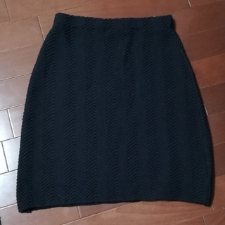 マリークワント(MARY QUANT)のマリークワント ニットスカート(ミニスカート)