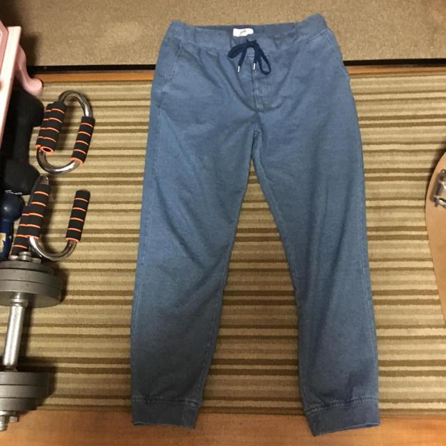 ikka(イッカ)のikka イッカ 男女兼用 XLサイズ デニム•ジョガーパンツルームウェア正規品 メンズのパンツ(その他)の商品写真
