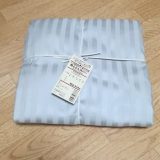 ムジルシリョウヒン(MUJI (無印良品))の新品!掛け布団カバー 無印良品 ダブル(シーツ/カバー)