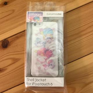 サンリオ(サンリオ)の新品未使用 iPod touch6対応 シェルカバー キキララ(モバイルケース/カバー)