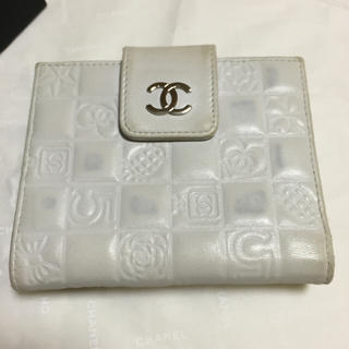 シャネル(CHANEL)のCHANEL❤︎アイコンライン折財布(財布)