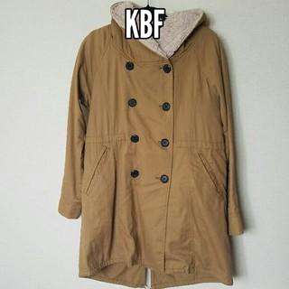 ケービーエフ(KBF)のKBF モコモコボアコート☆取り外し可(モッズコート)