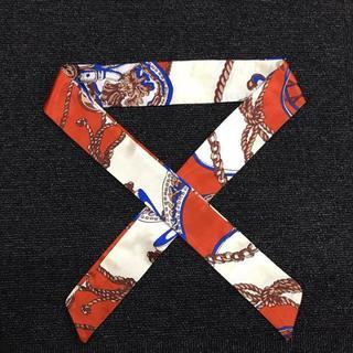 ツイリースカーフ リボンスカーフ バッグスカーフ 29(バンダナ/スカーフ)
