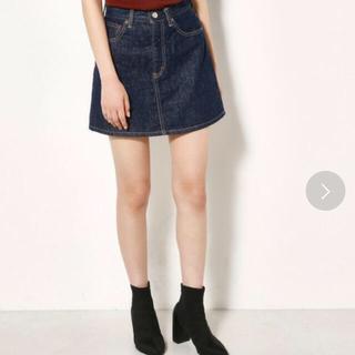 スライ(SLY)のSLY 新品未使用 デニムスカート 今期(ミニスカート)