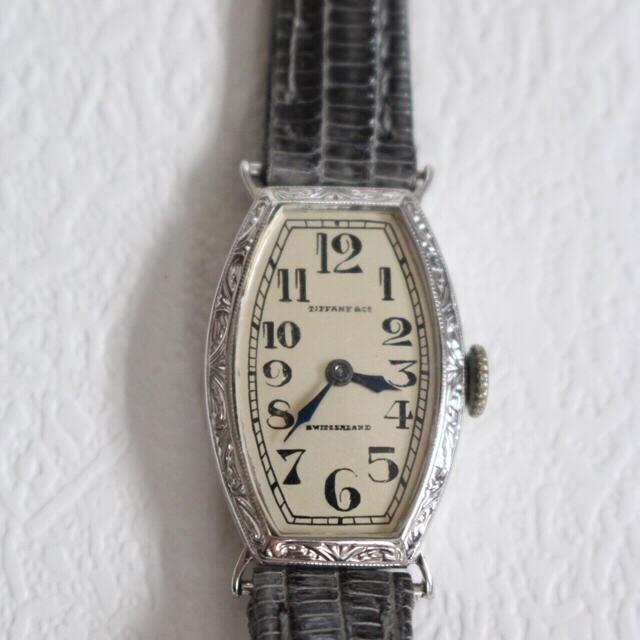 wholesale dealer 979a4 0621d hanaansam様限定 ティファニー アンティークウォッチ