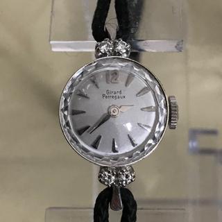 ジラールペルゴ(GIRARD-PERREGAUX)のGP ジラールペルゴー レディース時計 14K金無垢❗️天然ダイヤ(腕時計)