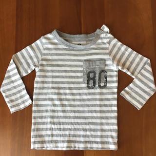 ジーンズベー(jeans-b)のjeans-b 2nd ロングTシャツ 80㎝  ベビールーム(Tシャツ)