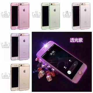 着信 通知で光るiPhoneケース ハードフルケース(iPhoneケース)