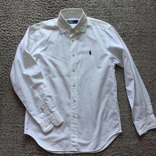 ポロラルフローレン(POLO RALPH LAUREN)のPolo ワイシャツ 白 150cm(ドレス/フォーマル)
