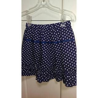 ジーユー(GU)の新品GU☆ドット柄スカート 140(スカート)