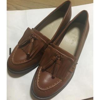 レプシィムローリーズファーム(LEPSIM LOWRYS FARM)の最終値下げ!タッセルローファー 23.5cmブラウン(ローファー/革靴)