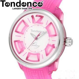 テンデンス(Tendence)のテンデンス時計☆自分のスタイルで自由にファッション!!可愛いピンク・白☆(腕時計)