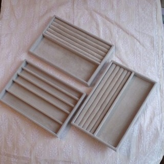 ムジルシリョウヒン(MUJI (無印良品))の無印良品 ベロア内箱仕切 3個(その他)