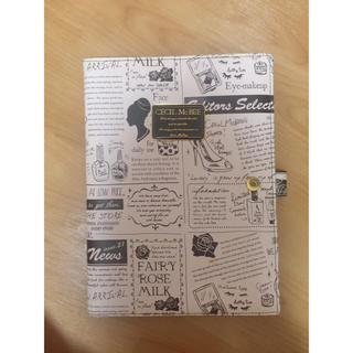 セシルマクビー(CECIL McBEE)のノートカバー(ノート/メモ帳/ふせん)