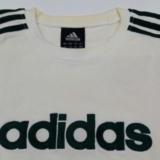 アディダス(adidas)のadidas厚手半袖シャツ(Tシャツ/カットソー(半袖/袖なし))