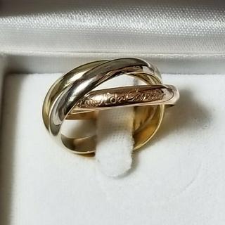カルティエ(Cartier)のチシャ猫様専用 Cartier カルティエ トリニティリング 58号 美品(リング(指輪))