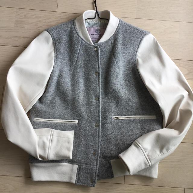 IENA(イエナ)のJT様専用ロアフィリー ホワイトレザー スタジャン レディースのジャケット/アウター(スタジャン)の商品写真