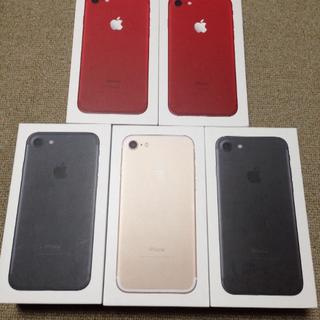 アップル(Apple)のiPhone7 256GB SIMロックフリー 5台セット(スマートフォン本体)