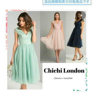 チチロンドン(Chi Chi London)のインポートドレス(ひざ丈ワンピース)