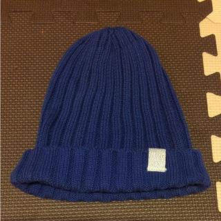 ジーユー(GU)のニット帽 ビーニー(ニット帽/ビーニー)