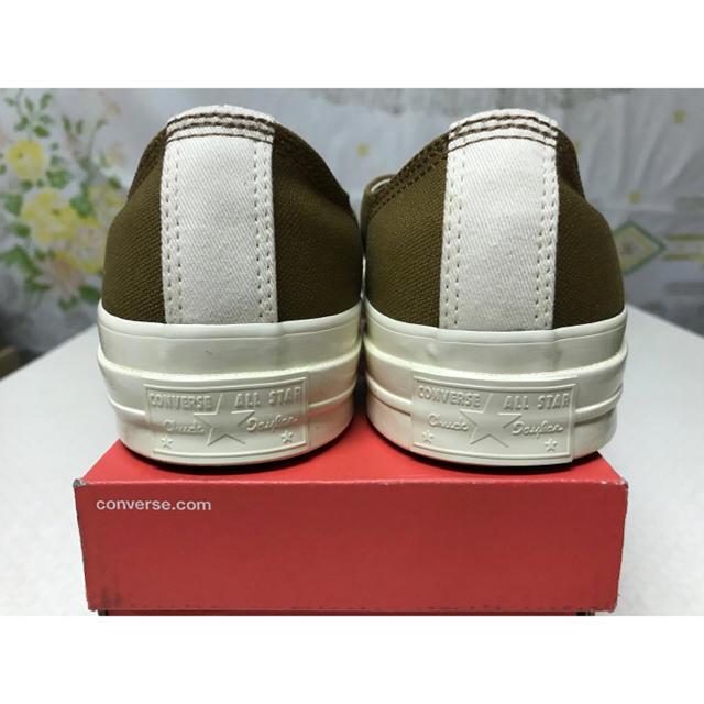 CONVERSE(コンバース)の日本未発売 27.5cm Converse × Carhartt 三つ星ブラウン メンズの靴/シューズ(スニーカー)の商品写真