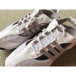 アディダス(adidas)のアディダスadidas日本未入荷デザインゴルフシューズ新品(シューズ)