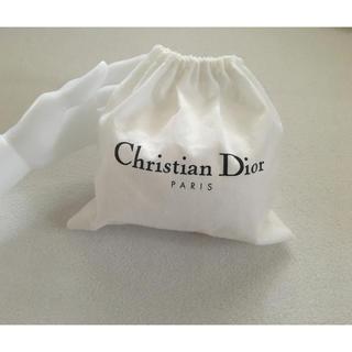 Dior - ブランド巾着袋 ディオールDiorポーチ小物入れホワイトの通販 by hotaru's shop|ディオールならラクマ