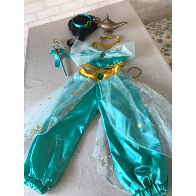 400570796 Disney(ディズニー)のジャスミン 110〜120ドレス ジャスミンコスチューム キッズ/ベビー/