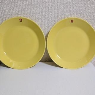イッタラ(iittala)の2枚新品未使用 イッタラ ティーマ イエロー 17cm  プレート(食器)