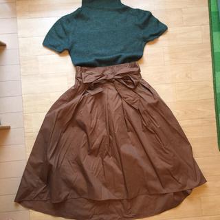 シマムラ(しまむら)のしまむら完売スカート&ボディドレッシングニット(ひざ丈スカート)
