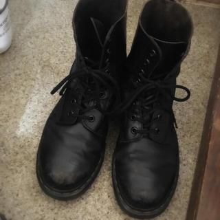ドクターマーチン(Dr.Martens)のDr. Martin 8ホール 黒 25cm UK6(ブーツ)