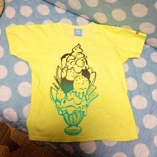 パフェイラストのTシャツ♪小柄な方に☆(Tシャツ(半袖/袖なし))