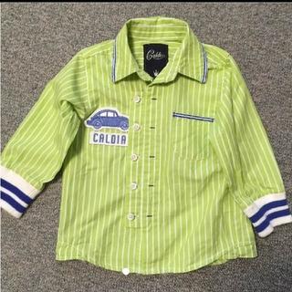 カルディア(CALDia)のCALDIA★キッズ袖リブシャツ★90サイズ(Tシャツ/カットソー)