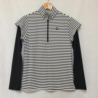 マンシングウェア(Munsingwear)のMunsingwear〈マンシングウェア〉 ジップアップ長袖ポロシャツ *M*(ポロシャツ)