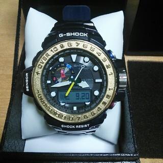 ジーショック(G-SHOCK)のG-SHOCK GWN-1000F ガルフマスター ゴールド&ミッドナイトブルー(腕時計(デジタル))
