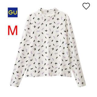 ジーユー(GU)の【新品・未開封】セーラームーン×GU ハイネックT 白(Tシャツ(長袖/七分))