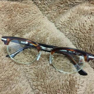 ビームスボーイ(BEAMS BOY)のshuron べっこうフレーム 眼鏡(サングラス/メガネ)