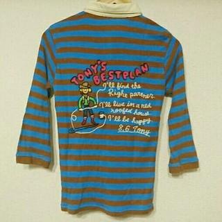 ラフ(rough)のrough★カウボーイボーダー五分袖シャツ(Tシャツ(長袖/七分))