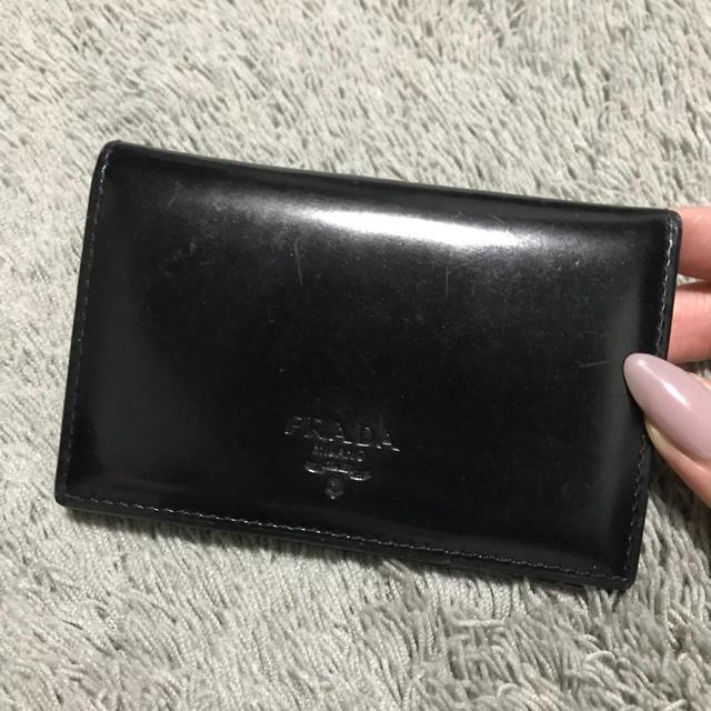 the latest 7d237 1b3e5 PRADA♡名刺入れ カードケース | フリマアプリ ラクマ