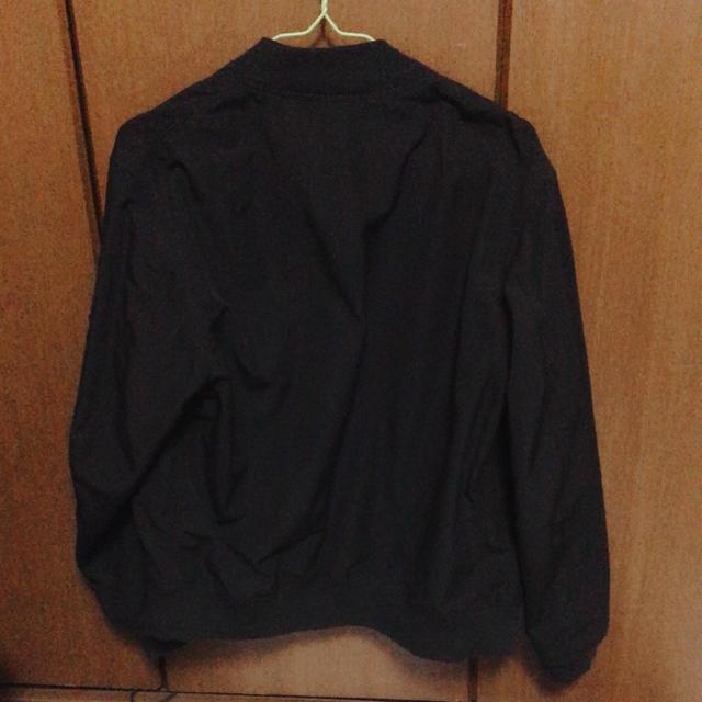 WEGO(ウィゴー)のメンズ ブラック MA-1   メンズのジャケット/アウター(ブルゾン)の商品写真
